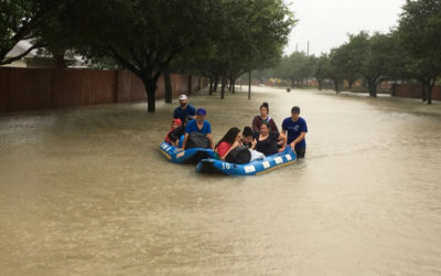 """Team member reports Harvey's damage """"bigger than anything we can imagine"""""""
